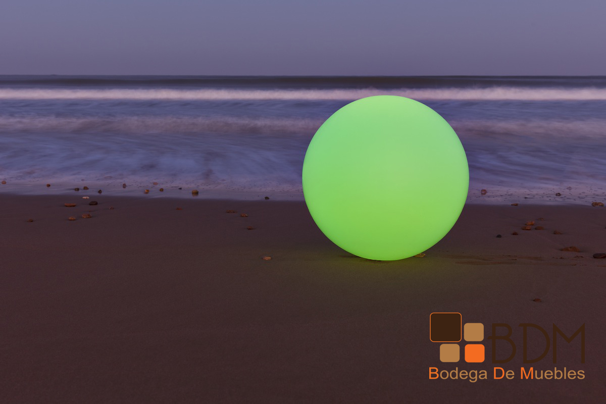 Esfera Con Led Decoraci N Luminosa Adorno Muebles Luz Iluminados  # Muebles Luminosos