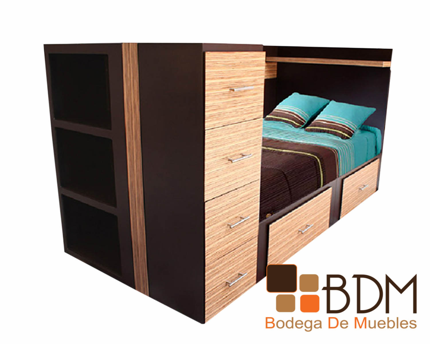 Moderna Cama multifuncional Dreams Brownie - Bodega de Muebles ...