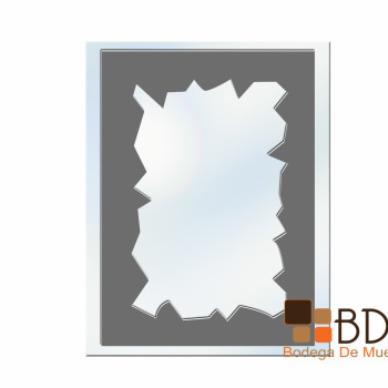 Espejo Decorativo Tipo Papel Antiguo Mirror Shield