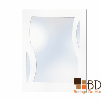 Espejo Decorativo de Ondas Mirror Shield