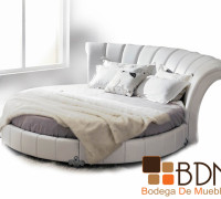 Cama Redonda Color Blanco