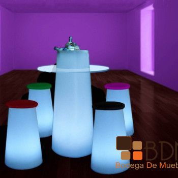 Set de Bar con Luz Led Decoled