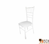 Silla Banquetera en Color Blanco
