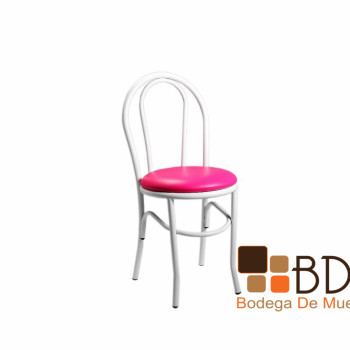 Silla en Tactopiel Color Rosa Food Stage