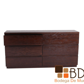 Comoda De Madera Kontempo Fancy