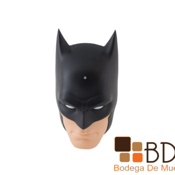 Lampara infantil con luz led batman face