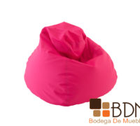 Sillon puff comodo moderno color rosa