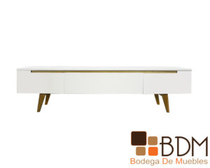 Mueble para TV Moderno Sencillo Color Blanco