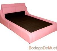 Base para Cama con detalles delicados y muy femeninos en rosa pastel perfecta para materializar tus sueños.