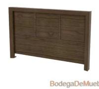 Cabecera para Cama king size alta fabricada con madera de fresno y alder.