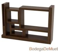 Mueble Centro de Entretenimiento minimalista con aperturas en las medidas exactas a sus necesidades.