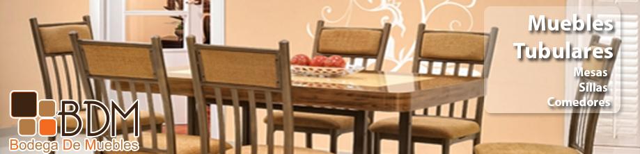 muebles tubulares,comedores,sillas,bancos,muebles para tv
