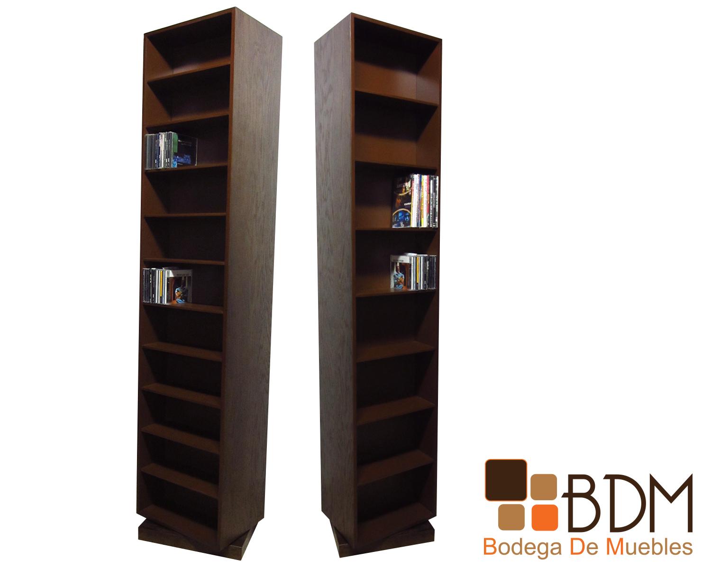 68 Mueble Porta Cd Librero Mueble De Madera Bodega De Muebles  # Muebles Libreros