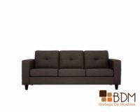 Sofa Negro - Elegante - Clásico
