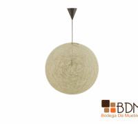 lampara colgante, lampara de rattán, minimalista