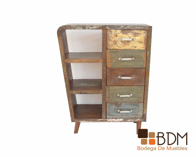 Ropero Vintage Cajonera Industrial Mueble Vintage Bodega De  # Muebles Roperos