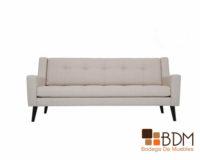 sofa blanco - clásico - contemporáneo - cómodo