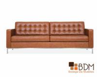 sofa vintage - sofa para 4 - sillon de piel