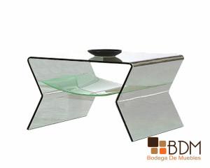 mesa lateral de cristal, mesas para sala