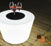 Mesa Lounge Iuminada