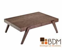 mesa de madera fina