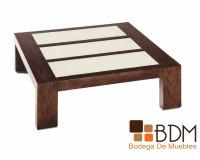 mesa moderna de madera