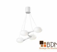 Lámpara Geométrica de Cuatro Luces