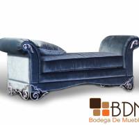 Banca Tapizada en Velour Furniture