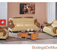 Sala Moderna Color Cafe y Beige