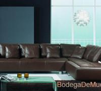 """Sala de Piel Moderna y Elegante  """"Supremo"""""""