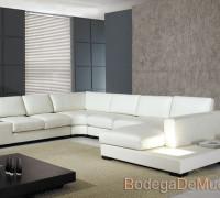 Sala de Piel Completa Moderna