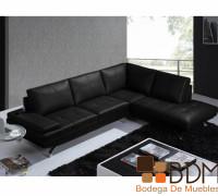 Sala Esquinera en Color Negro