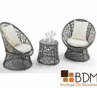 Set de sillas para exterior