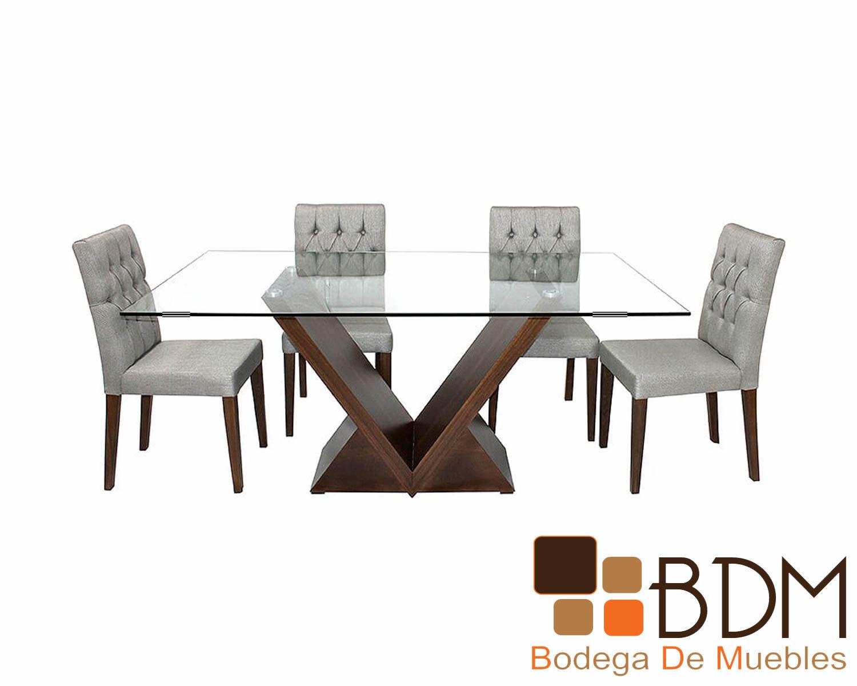 Mesa Contemporánea para Comedor Justo - Bodega de Muebles
