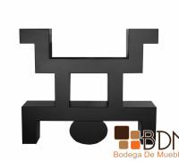 Mueble para Tv Diseño Azteca