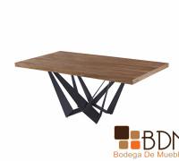 Mesa comedor diseño industrial