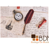 Cuadro Estilo Vintage Royal Letter