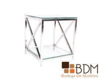 mesa lateral para sala estilo minimalista
