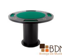 Mesa de madera MDF satinado para poker