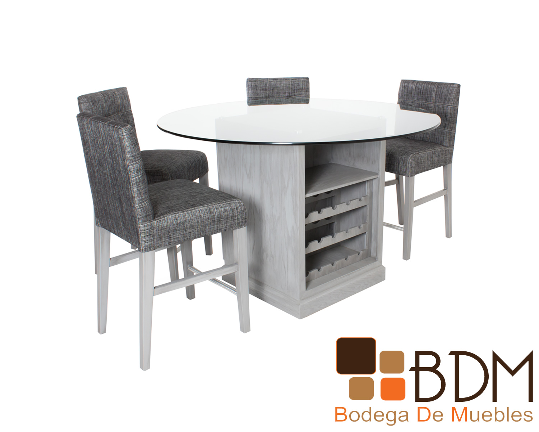 42d3190839a7 mesa-de-comedor-circular-moderna-kontempo-cc45.6 - Bodega de Muebles ...