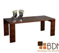 Mesa de madera para comedor rectangular