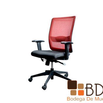 Silla para oficina con asiento acolchonado