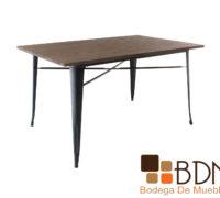 Mesa de comedor rectangular moderna