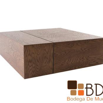 Mesa de centro de madera moderna para sala