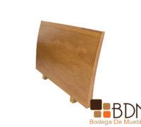 Cabecera moderna para base matrimonial en madera poplar