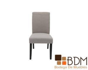 Silla elegante para comedor tapizada tela - Bodega de muebles