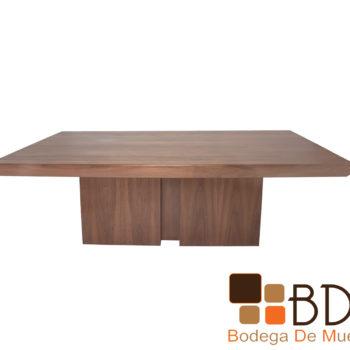 Mesa rectangular moderna para comedor