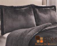 Set de edredon king size para cama black